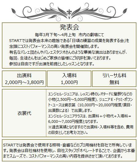 バレエスクール 幼児 小学生 中学生 初心者 名古屋市 発表会 安い