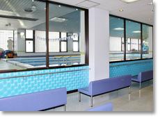 名古屋・水泳教室・スポーツクラブ・の温水プール・3F ギャラリー
