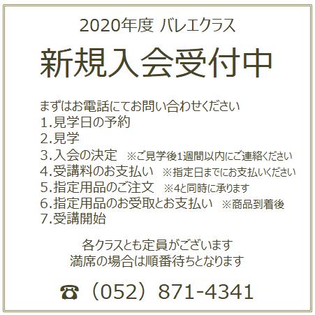 バレエ教室 名古屋市 熱田区 瑞穂区 幼児 小学生 中学生 新規 入会受付中